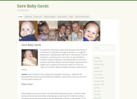 savebabygavin.com