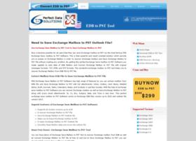 saveexchangemailboxtopst.edb2pst.info