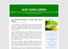 savegoingreen.blog.com