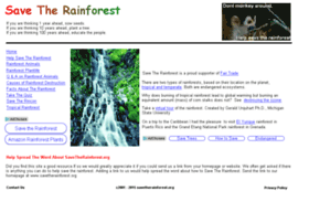 savetherainforest.org