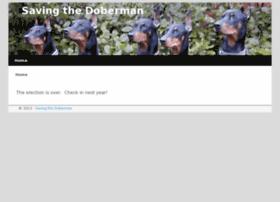 savingthedoberman.com
