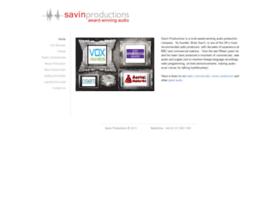savinproductions.com