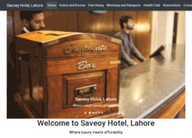 savoeyhotellahore.com