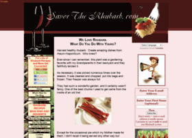 savor-the-rhubarb.com