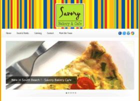 savorybakerycafe.com