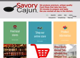 savorycajun.com