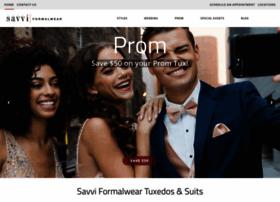 savviformalwear.com