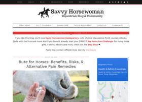 savvyhorsewoman.com