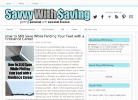 savvywithsaving.com