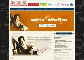 sawaigandharvabhimsenmahotsav.com