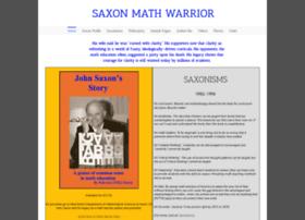 saxonmathwarrior.com