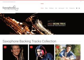 saxophonebackingtracks.com
