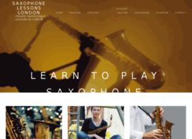 saxophonelessonslondon.co.uk