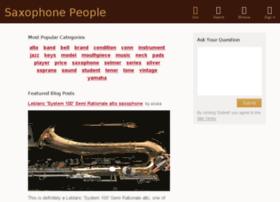 saxophonepeople.com