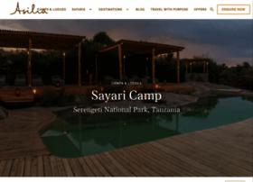 sayaricamp.asiliaafrica.com