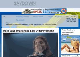 saydowin.com