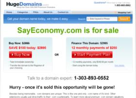 sayeconomy.com