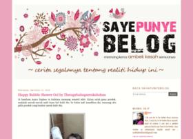 sayepunyebelog.blogspot.my