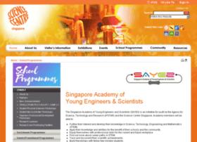 sayes.science.edu.sg