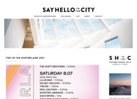 sayhellotothecity.com
