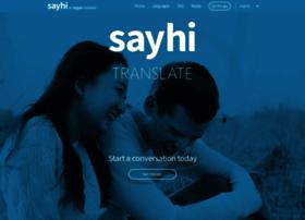 sayhitranslate.com