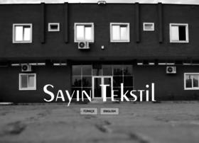 sayintextile.com