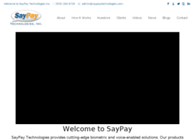 saypaytechnologies.com