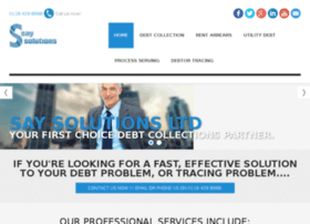 saysolutions.co.uk