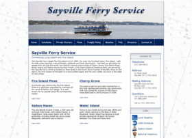 sayvilleferry.com