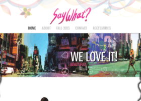 saywhat.cheerycode.com
