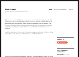 sbainvent.com