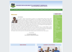 sbbu.edu.pk