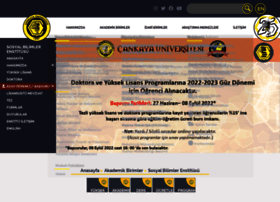 sbe.cankaya.edu.tr