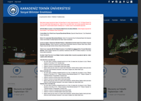 sbe.ktu.edu.tr