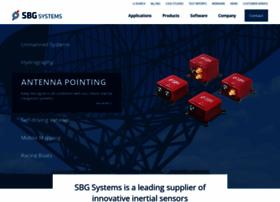 sbg-systems.com