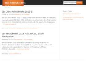 sbirecruitment2016.in