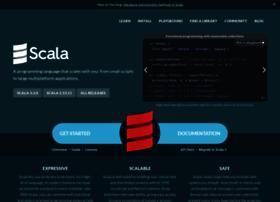 scala-lang.org