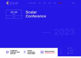 scalar-conf.com