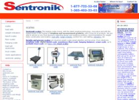 scales.sentronik.com