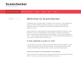 scamchecker.net