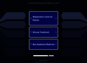 scandinavianjournalpain.com