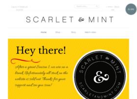 scarletandmint.com
