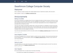 sccs.swarthmore.edu