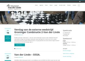 schaakclubvanderlinde.nl