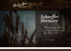 schaeffermortuary.info
