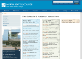 schedule.northseattle.edu