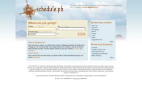 schedule.ph