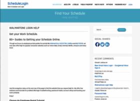 schedulelogin.com