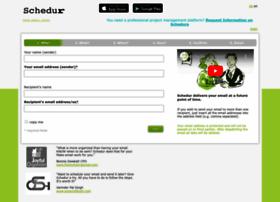 schedulemailer.com