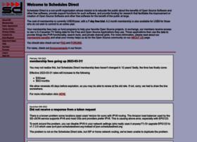 schedulesdirect.org